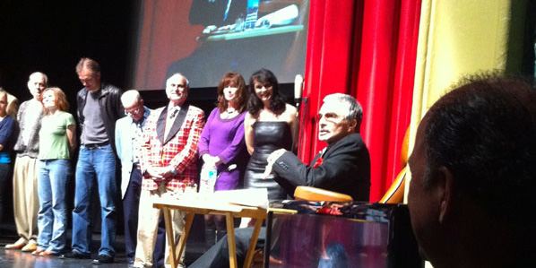 Burt Reynolds at his Master Class at the Lyric Theatre - December 2, 2011