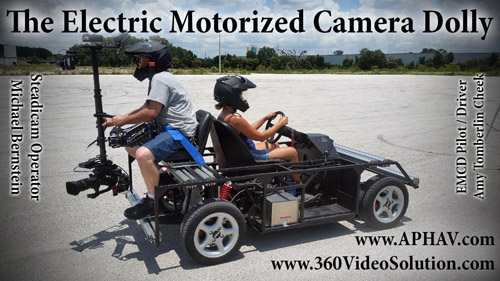 Electric Motorized Camera Dolly flyer