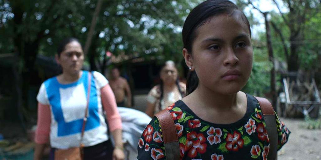 """Screen capture from """"EL OMBLIGO DE GUIE'DANI"""" screening September 16"""