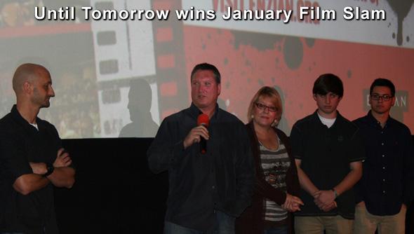 Until Tomorrow wins January Film Slam
