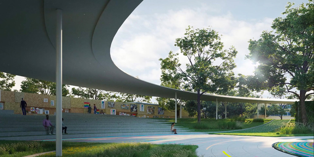 Rendering of part of the Pulse Museum and Memorial